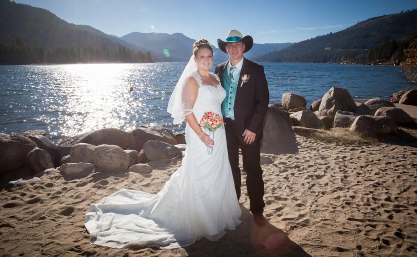 Adena & Buster's Fall Mountain Wedding