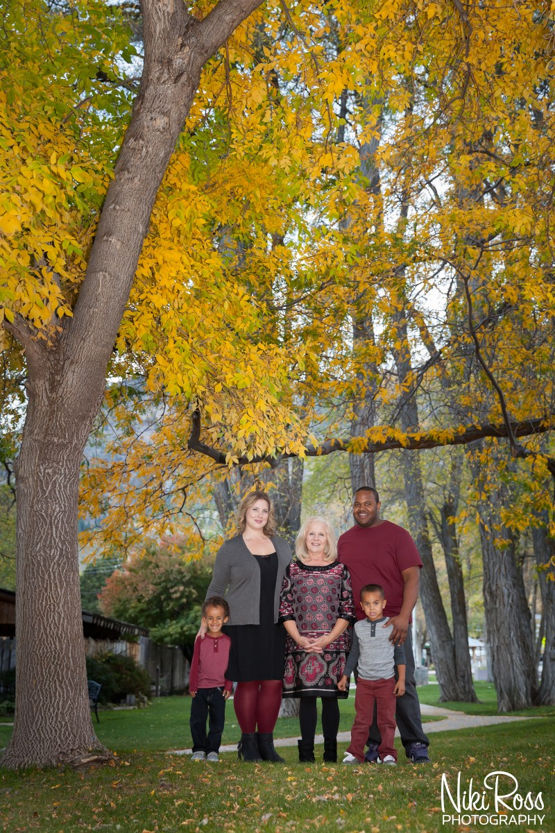 Fall Family Portrait Session
