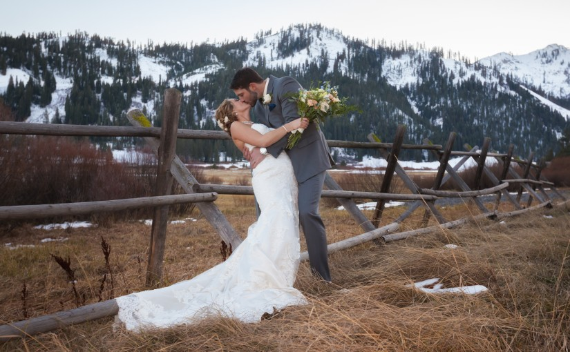 Jordan & Travis's Vintage, Shabby-Chic Wedding in Squaw Valley