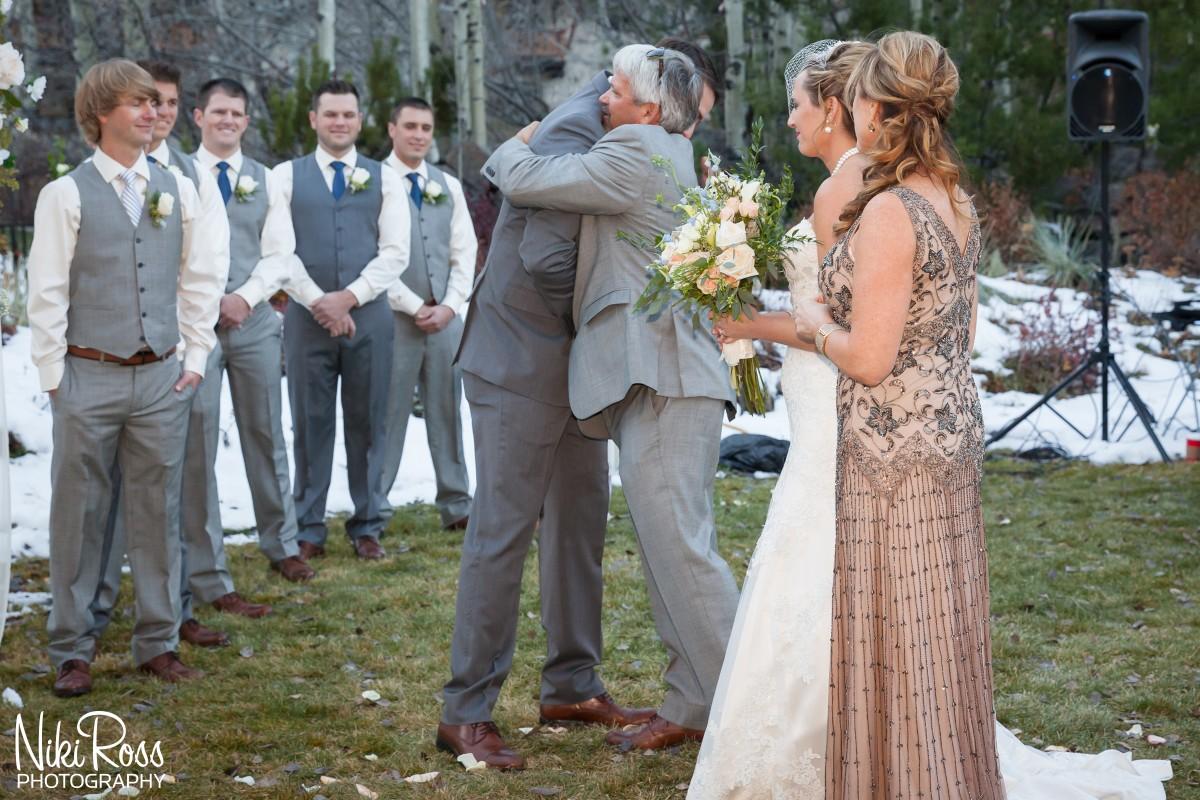 Nikki and travis wedding