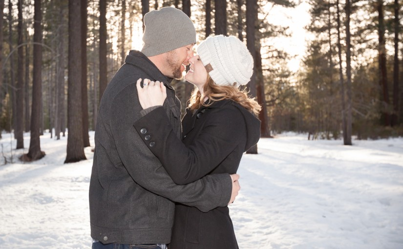 Nick & Laura's Truckee Engagement Session
