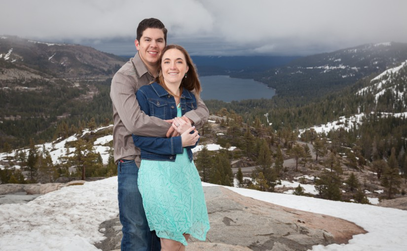 Truckee Engagement Session – Kim & Mark