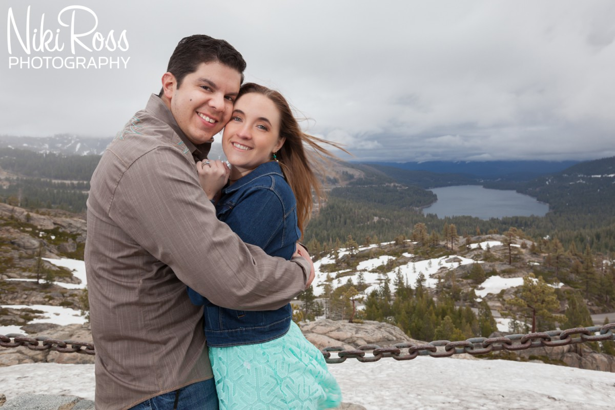 Truckee Engagement Session.