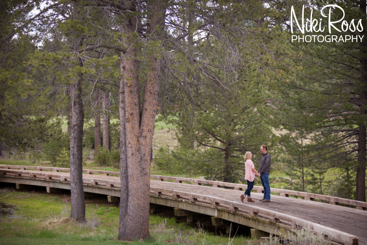 Engagement Session at Grays Crossing in Truckee CA