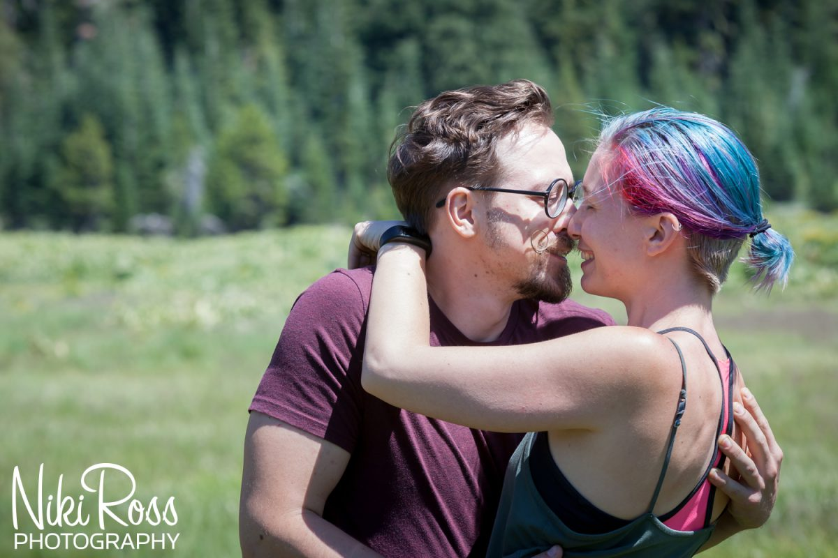 Hiking Engagement Session-27