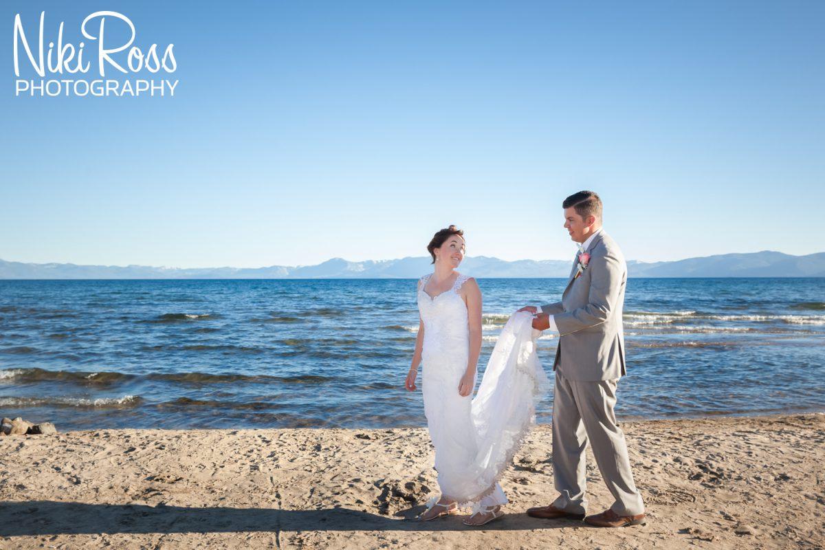 Kim & Mark's Summer Wedding at Lake Tahoe