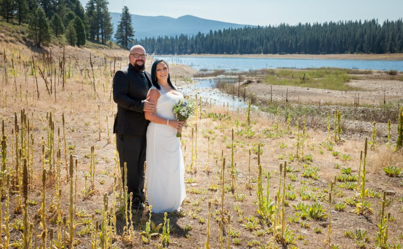 Johann & Jessica's Intimate Rustic Wedding in Truckee, CA.