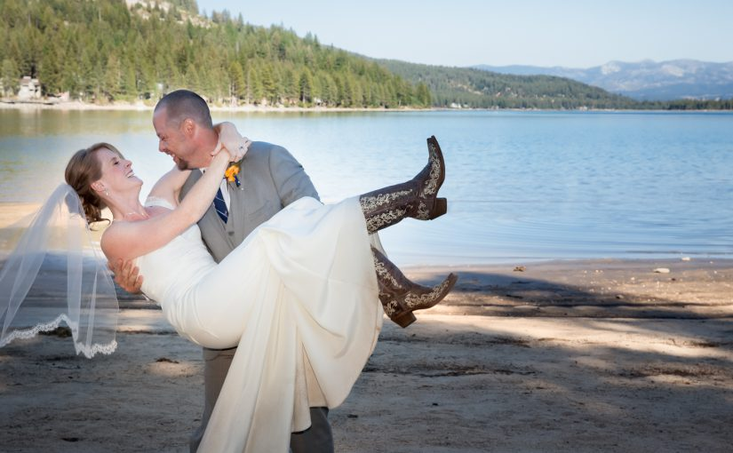 Nick & Laura's Rustic, Casual, Donner Lake Wedding