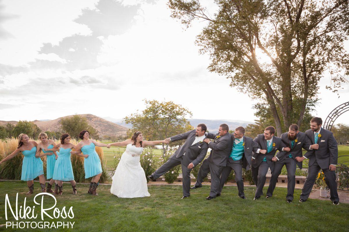Nikki and jeremy wedding