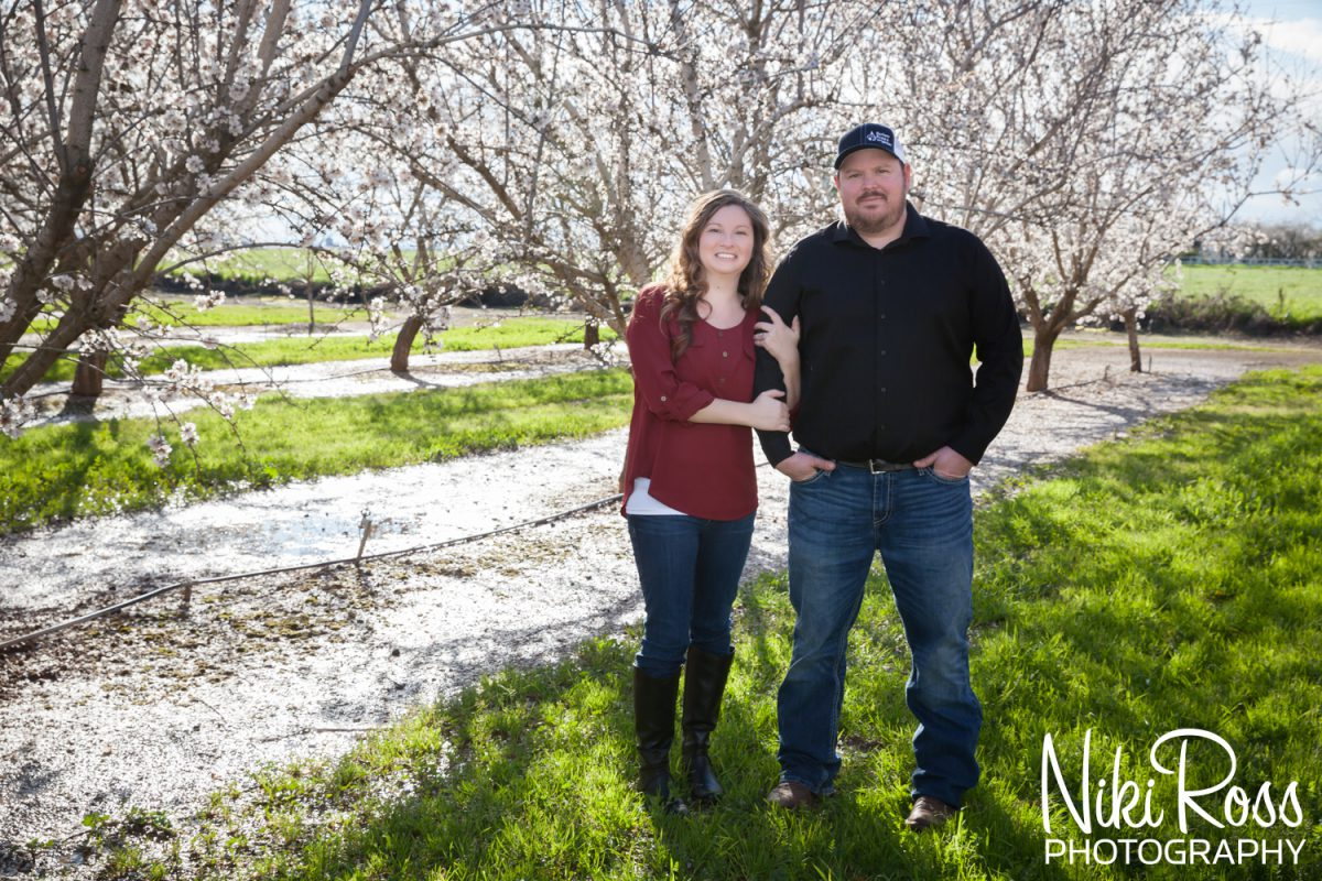 Almond Orchard Engagement-1