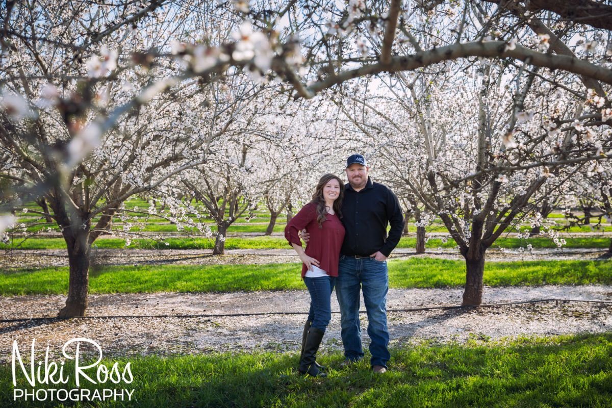 Almond Orchard Engagement-10