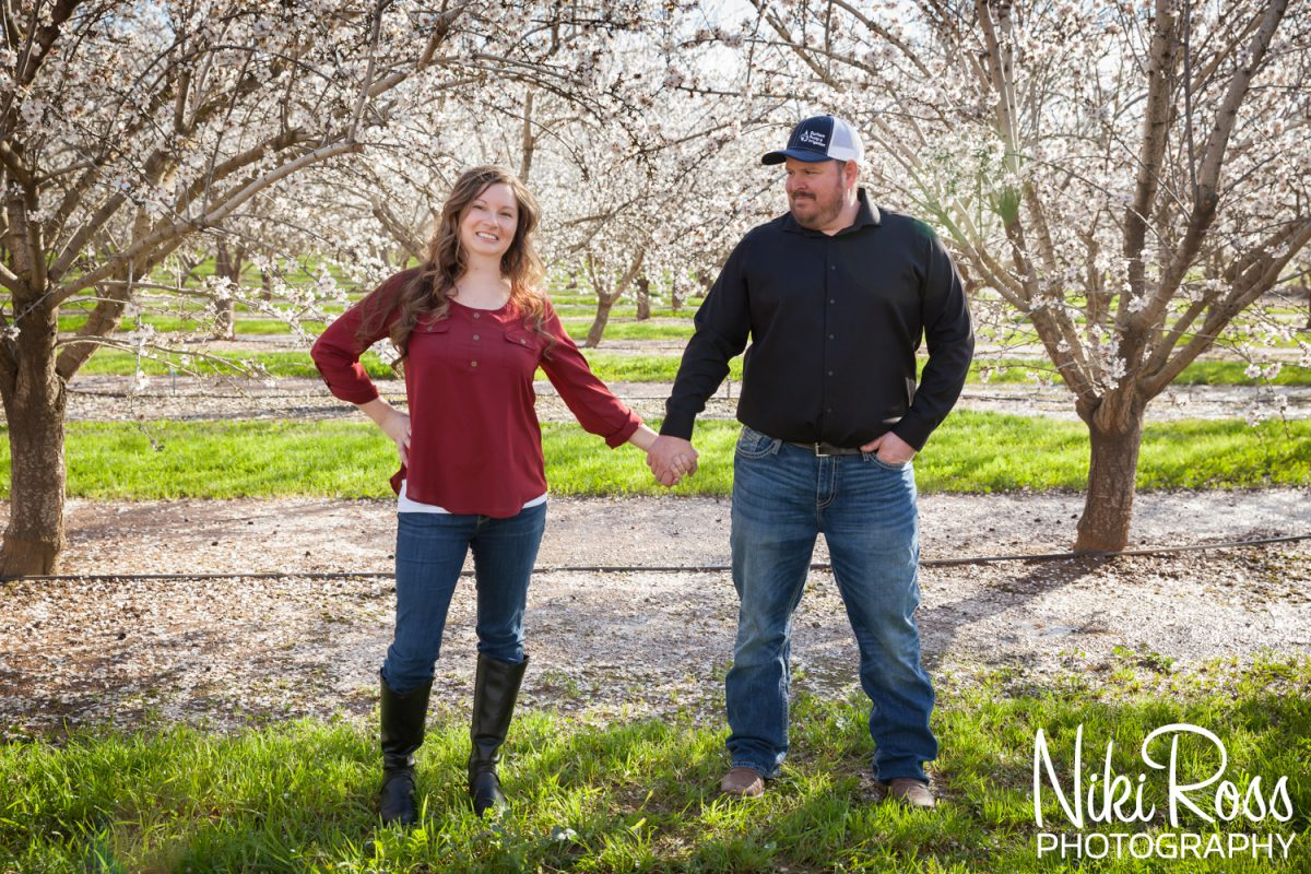 Almond Orchard Engagement-12