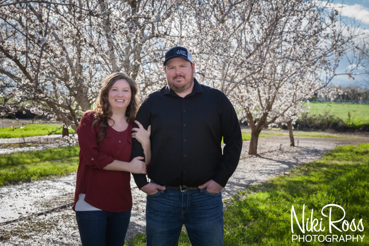 Almond Orchard Engagement-2