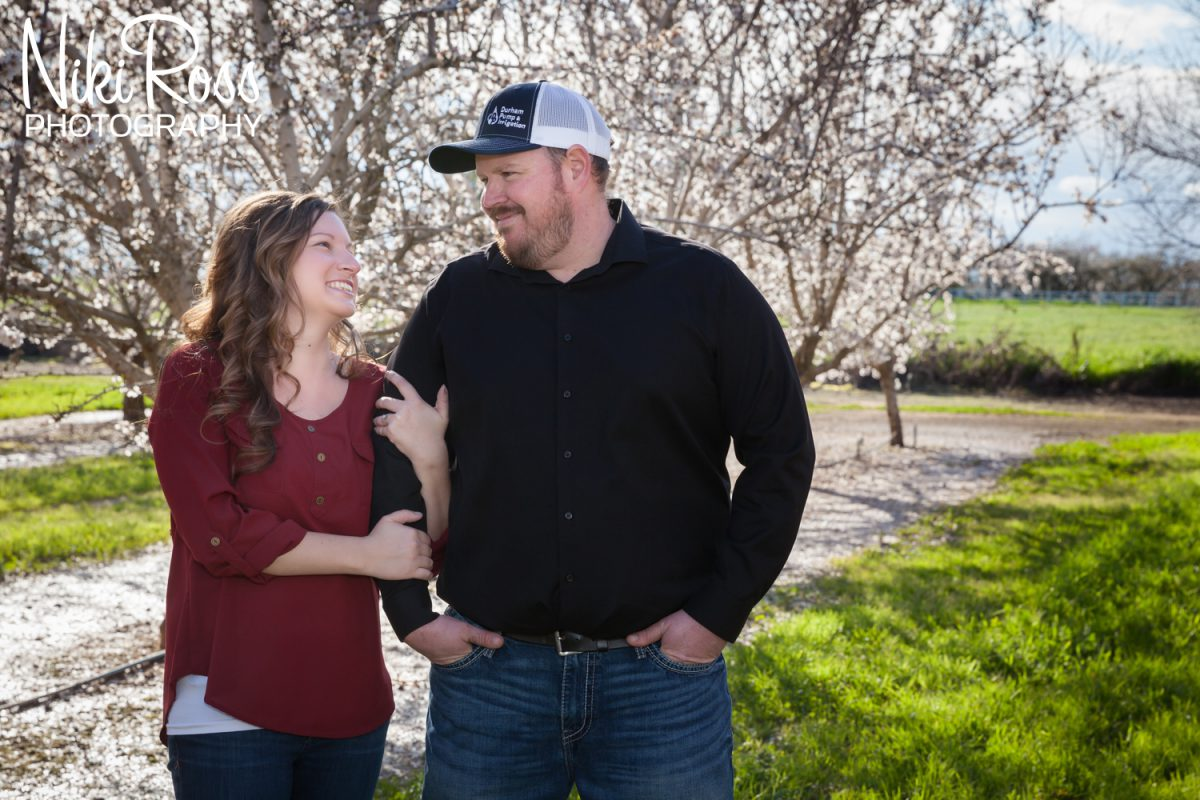 Almond Orchard Engagement-3
