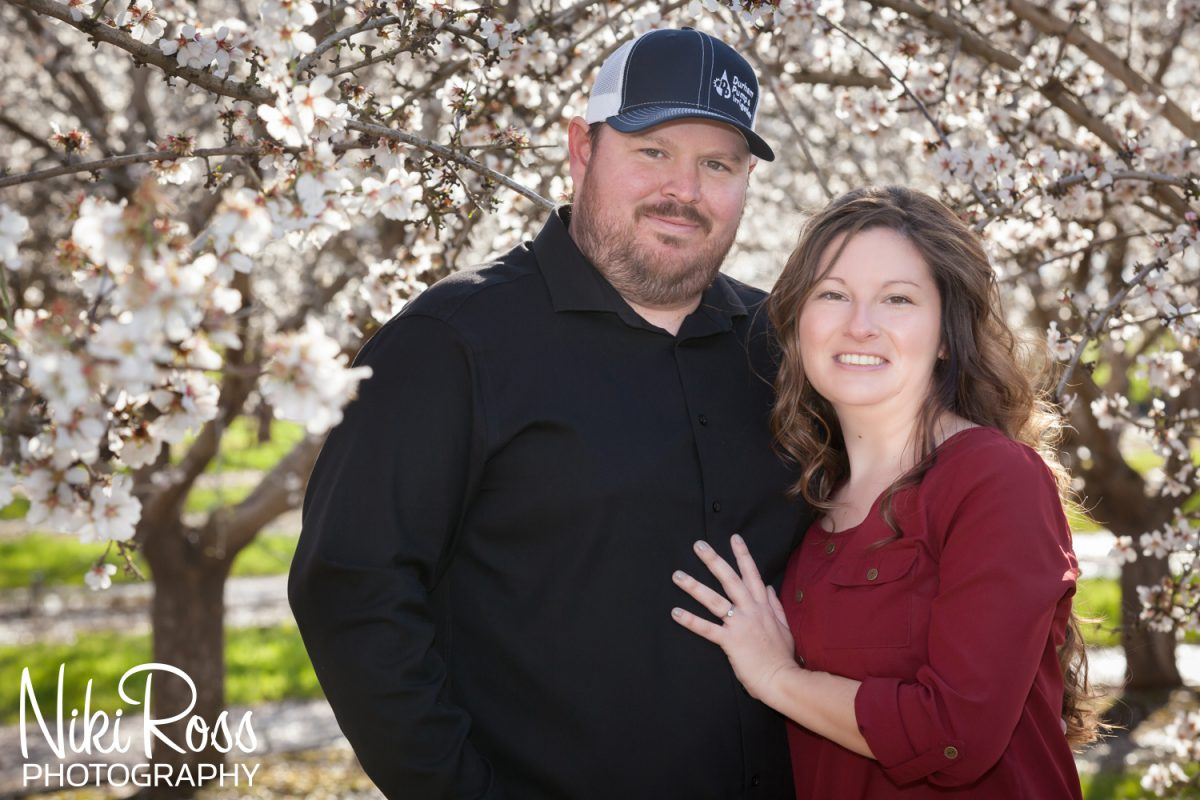Almond Orchard Engagement-7