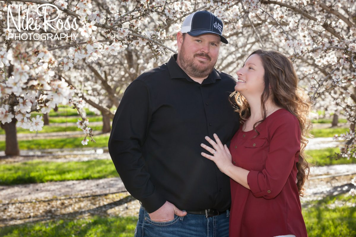 Almond Orchard Engagement-8