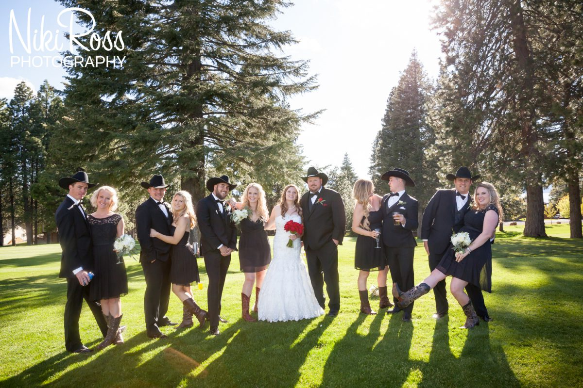Wedding in Lake Almanor