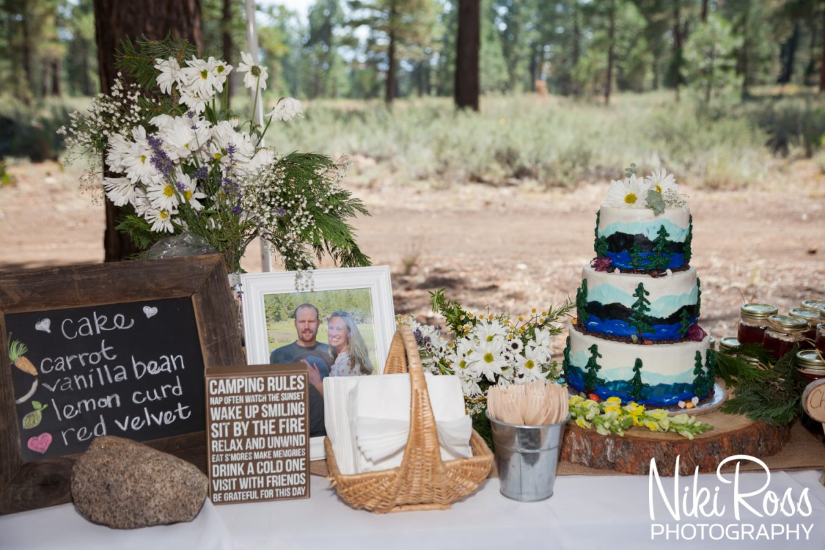 Camping Themed Wedding-70