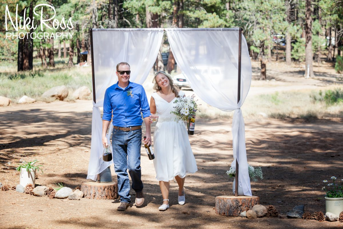 Camping Themed Wedding-72