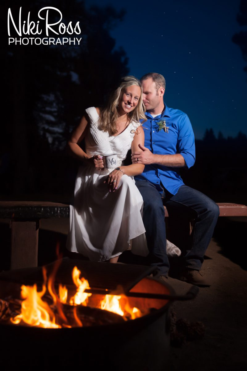 Camping Themed Wedding-87