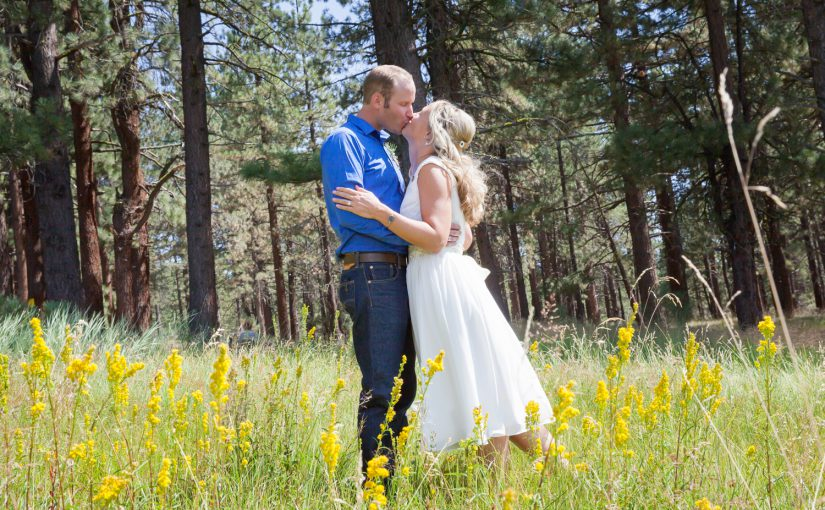 Chase and Kristine's Camping-Themed Wedding