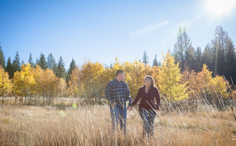 Ashlee and Kevin's Fall Engagement Session