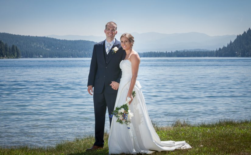Melinda & Ben's Donner Lake Beach Wedding