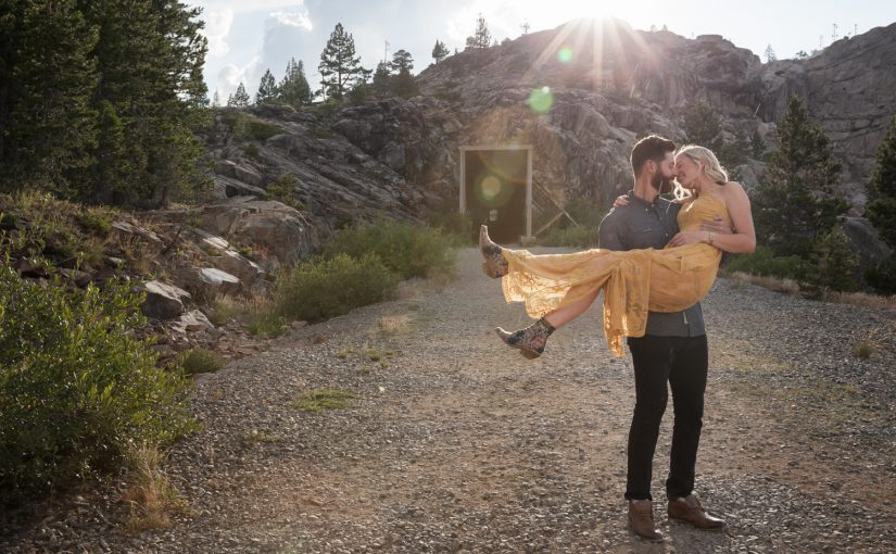 Megan & Joey's – Donner Summit Engagement Session