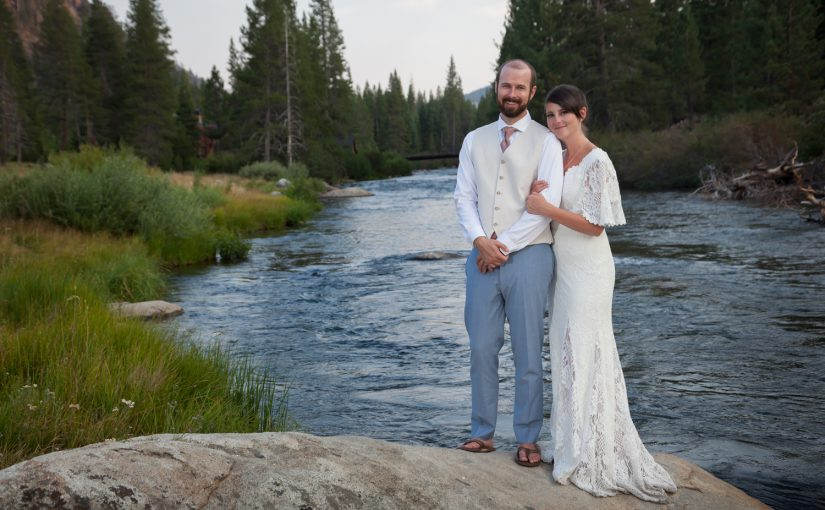 Travis and Amy's Wedding on the Truckee River