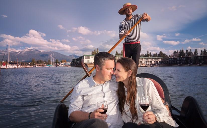 Venetian Gondola Lifestyle Portrait Session