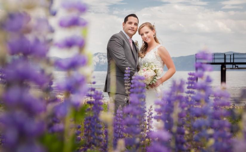 Michael & Kelly's Summer Mountain Wedding in Lake Tahoe, CA.