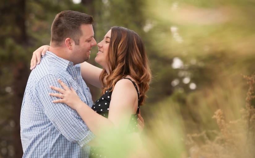 Steve and Megan's Lake Tahoe Engagement Photo Session